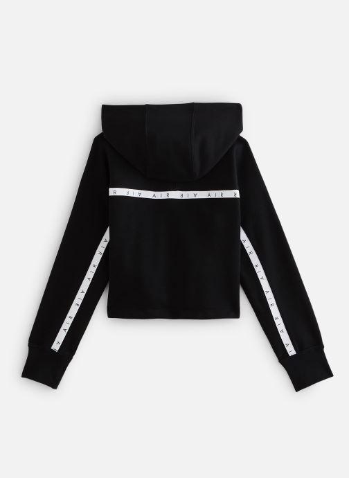 Vêtements Nike Nike Air Crop Hoodie Noir vue bas / vue portée sac