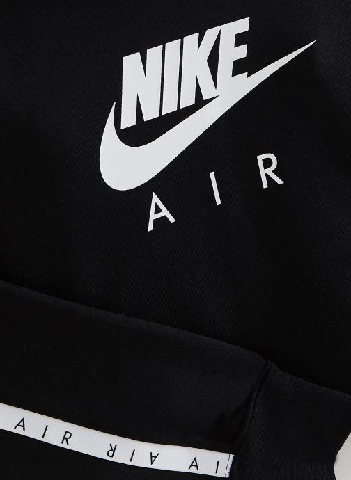 Vêtements Nike Nike Air Crop Hoodie Noir vue portées chaussures