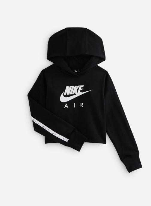 Vêtements Nike Nike Air Crop Hoodie Noir vue détail/paire
