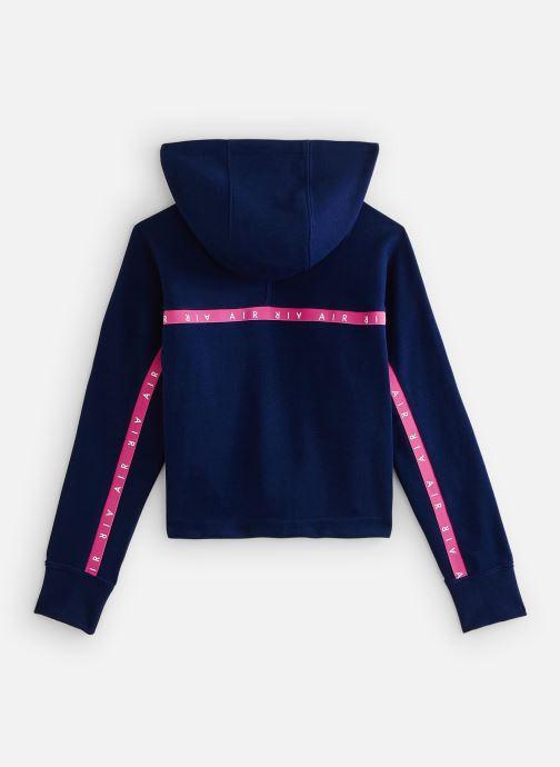 Vêtements Nike Nike Air Crop Hoodie Bleu vue bas / vue portée sac