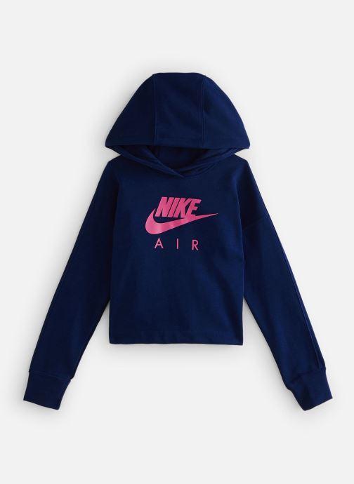 Vêtements Nike Nike Air Crop Hoodie Bleu vue détail/paire