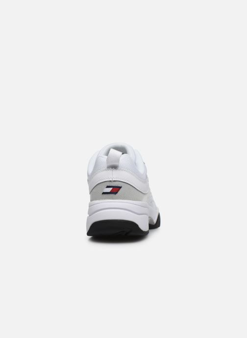 Baskets Tommy Hilfiger HERITAGE TOMMY JEANS RUNNER Blanc vue droite