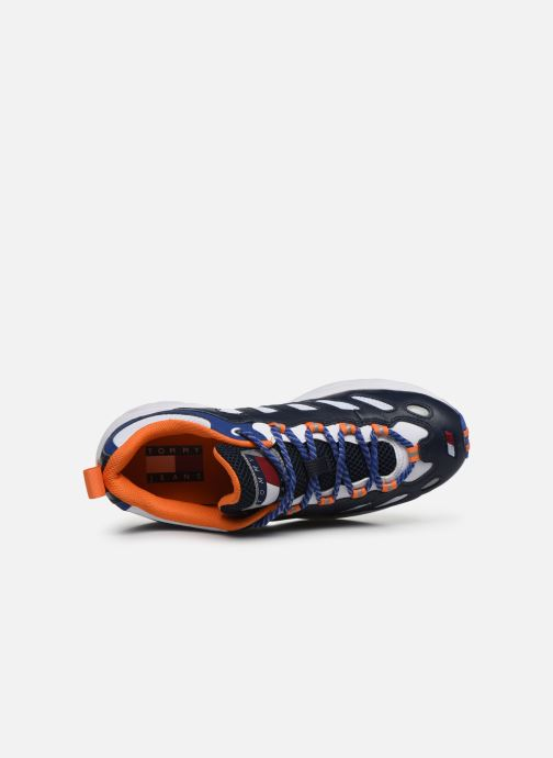 Trainers Tommy Hilfiger HERITAGE RETRO TOMMY SNEAKER Blue view from the left