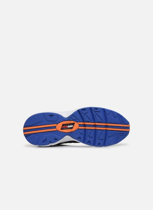 Trainers Tommy Hilfiger HERITAGE RETRO TOMMY SNEAKER Blue view from above