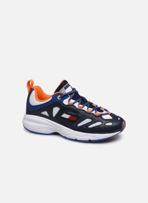 Trainers Tommy Hilfiger HERITAGE RETRO TOMMY SNEAKER Blue detailed view/ Pair view