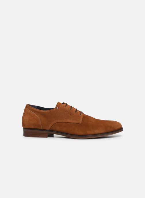 Chaussures à lacets Tommy Hilfiger CASUAL EMBOSSED SUEDE SHOE Vert vue derrière