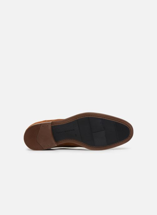 Chaussures à lacets Tommy Hilfiger CASUAL EMBOSSED SUEDE SHOE Vert vue haut