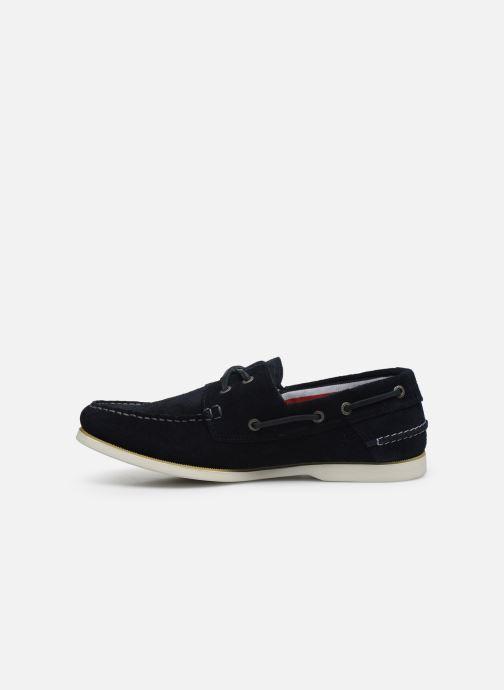 Chaussures à lacets Tommy Hilfiger CLASSIC LEATHER BOATSHOE Bleu vue face
