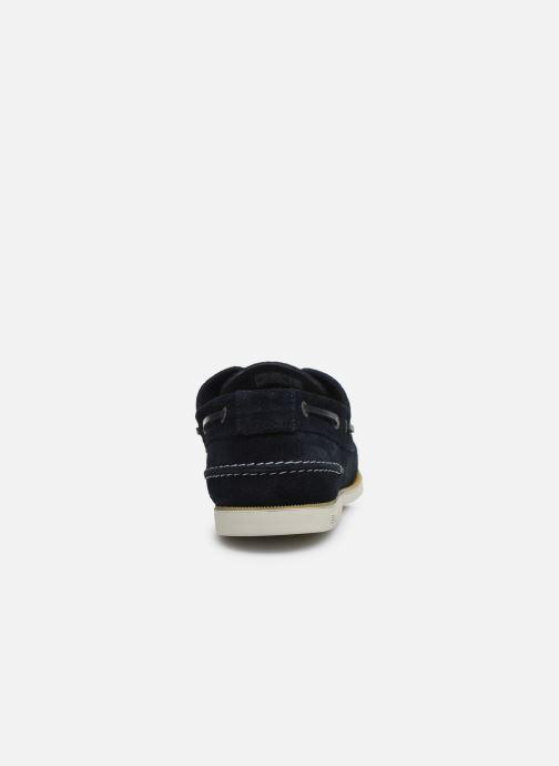 Chaussures à lacets Tommy Hilfiger CLASSIC LEATHER BOATSHOE Bleu vue droite