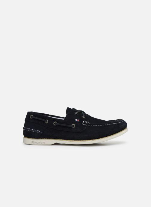 Chaussures à lacets Tommy Hilfiger CLASSIC LEATHER BOATSHOE Bleu vue derrière
