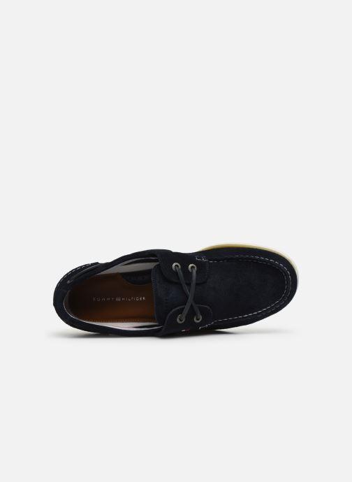 Chaussures à lacets Tommy Hilfiger CLASSIC LEATHER BOATSHOE Bleu vue gauche