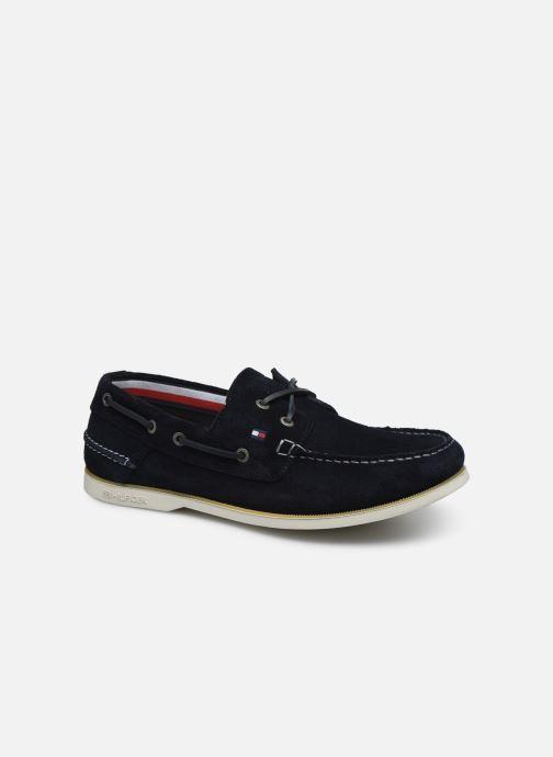 Chaussures à lacets Tommy Hilfiger CLASSIC LEATHER BOATSHOE Bleu vue détail/paire