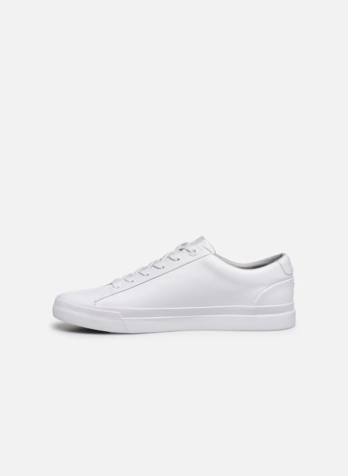 Sneakers Tommy Hilfiger CORPORATE LEATHER SNEAKER Hvid se forfra