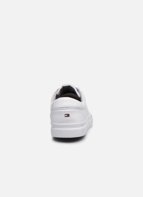 Sneakers Tommy Hilfiger CORPORATE LEATHER SNEAKER Hvid Se fra højre