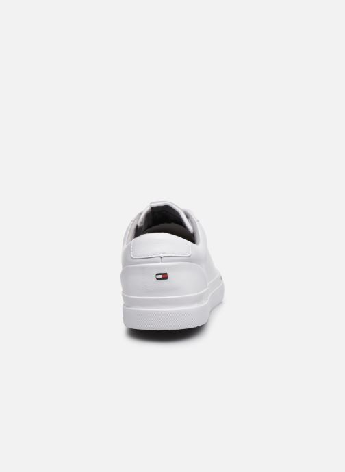 Deportivas Tommy Hilfiger CORPORATE LEATHER SNEAKER Blanco vista lateral derecha