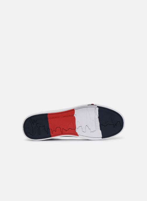 Sneakers Tommy Hilfiger CORPORATE LEATHER SNEAKER Hvid se foroven