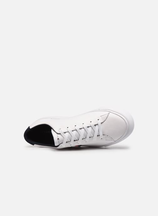 Sneaker Tommy Hilfiger CORPORATE LEATHER SNEAKER weiß ansicht von links