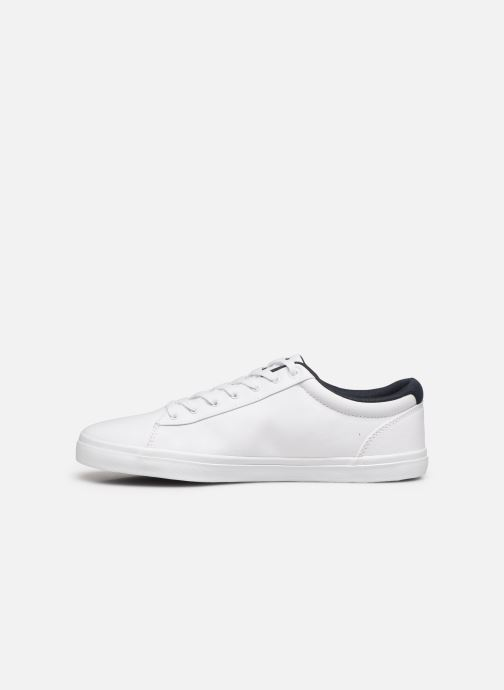 Sneakers Tommy Hilfiger ESSENTIAL STRIPES DETAIL SNEAKER Hvid se forfra