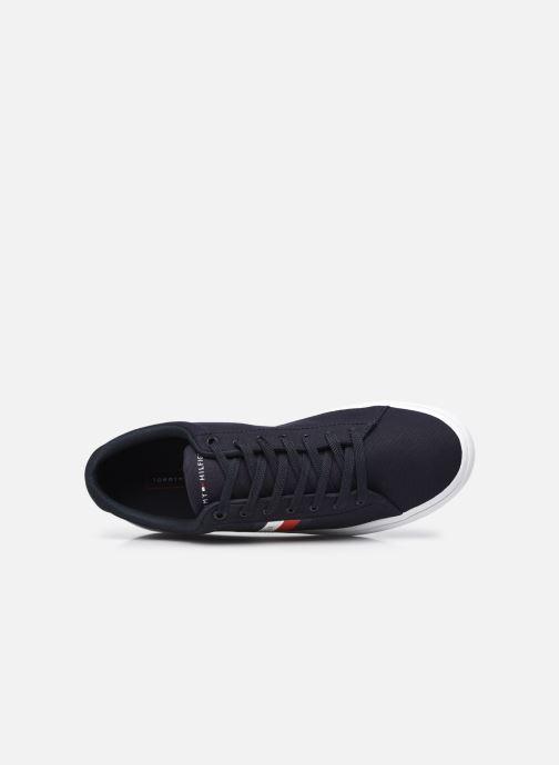Sneaker Tommy Hilfiger ESSENTIAL STRIPES DETAIL SNEAKER blau ansicht von links