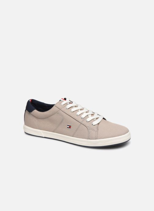 Baskets Tommy Hilfiger ICONIC LONG LACE SNEAKER Gris vue détail/paire