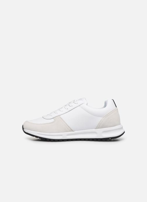 Trainers Tommy Hilfiger MODERN CORPORATE LEATHER RUNNER White front view