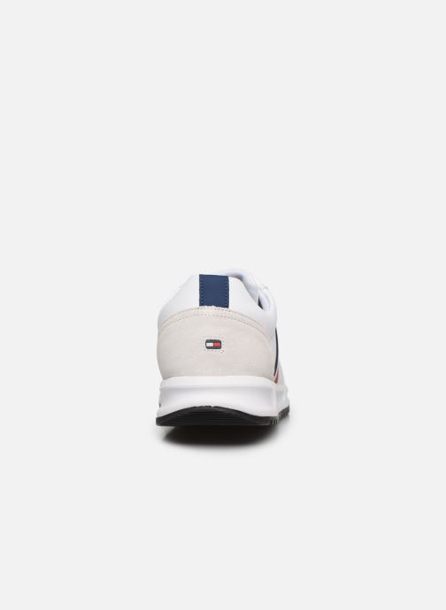 Trainers Tommy Hilfiger MODERN CORPORATE LEATHER RUNNER White view from the right