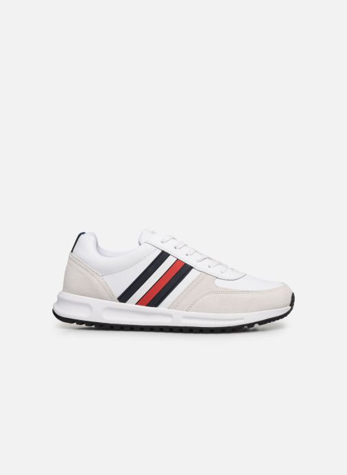 Trainers Tommy Hilfiger MODERN CORPORATE LEATHER RUNNER White back view