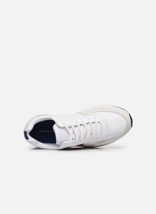 Trainers Tommy Hilfiger MODERN CORPORATE LEATHER RUNNER White view from the left