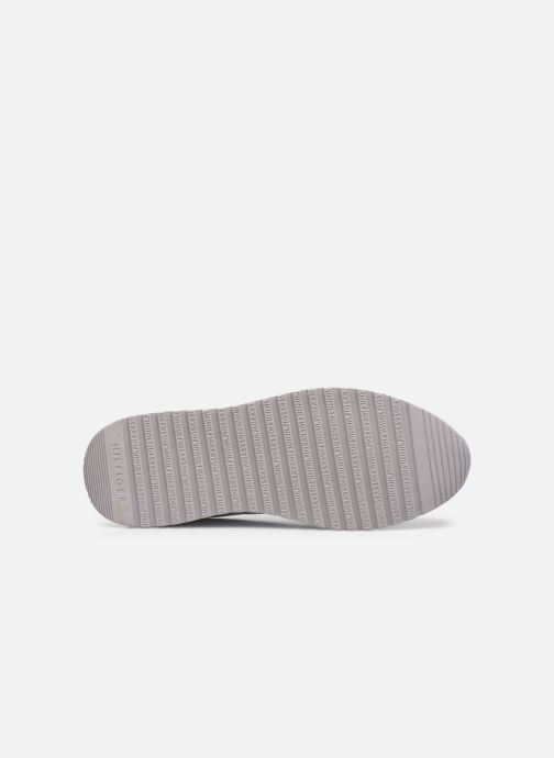 Sneakers Tommy Hilfiger MODERN CORPORATE LEATHER RUNNER Bianco immagine dall'alto