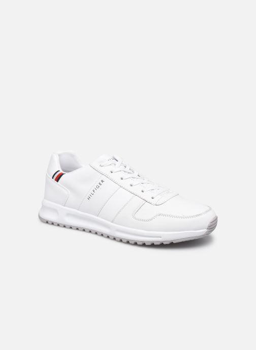 Sneakers Tommy Hilfiger MODERN CORPORATE LEATHER RUNNER Bianco vedi dettaglio/paio