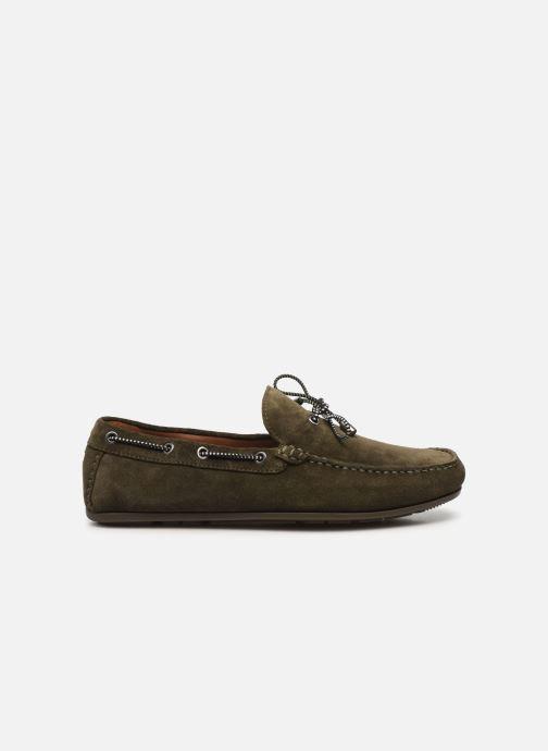Chaussures à lacets Tommy Hilfiger SUEDE INTERLACE LOAFER Vert vue derrière
