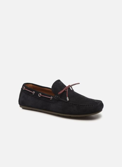 SUEDE INTERLACE LOAFER
