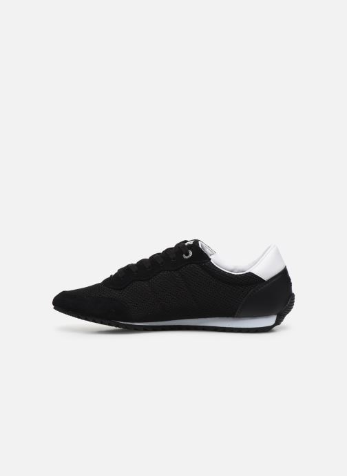 Baskets Tommy Hilfiger ESSENTIAL MESH RUNNER Noir vue face