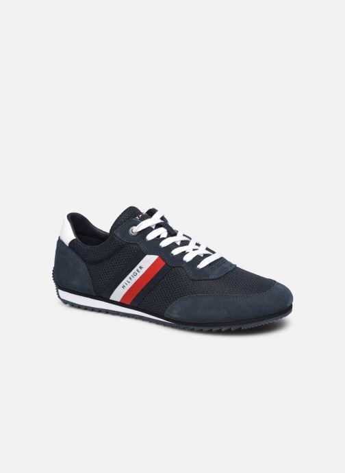 Sneakers Tommy Hilfiger ESSENTIAL MESH RUNNER Blauw detail