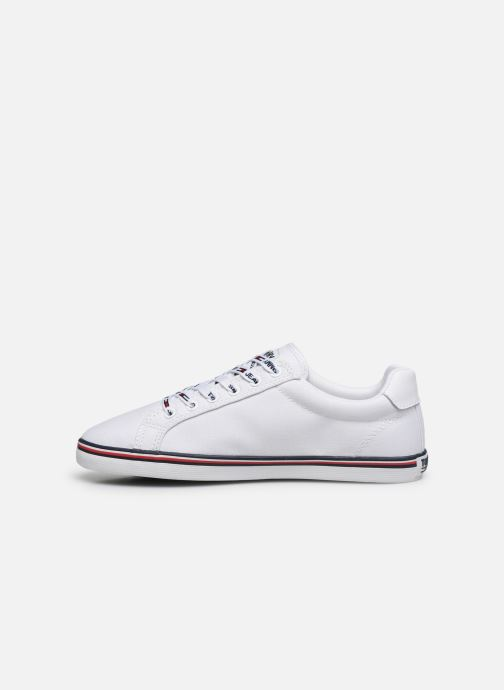 Baskets Tommy Hilfiger ESSENTIAL LACE UP SNEAKER Blanc vue face