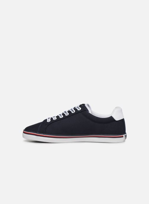 Baskets Tommy Hilfiger ESSENTIAL LACE UP SNEAKER Bleu vue face