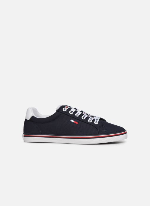 Baskets Tommy Hilfiger ESSENTIAL LACE UP SNEAKER Bleu vue derrière