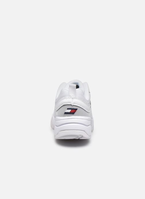 Sneakers Tommy Hilfiger HERITAGE TOMMY JEANS WMNS RUNNER Bianco immagine destra