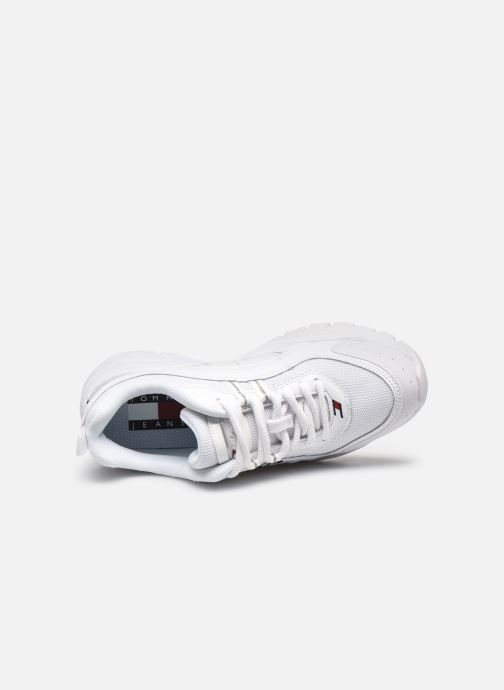 Sneakers Tommy Hilfiger HERITAGE TOMMY JEANS WMNS RUNNER Bianco immagine sinistra