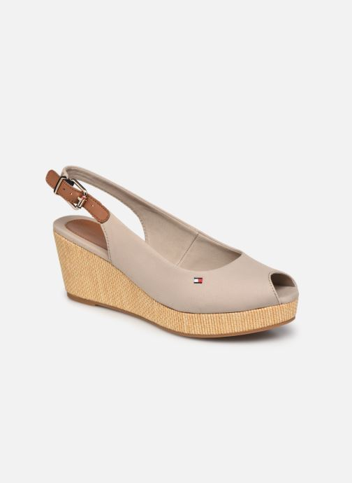 ICONIC ELBA SLING BACK WEDGE