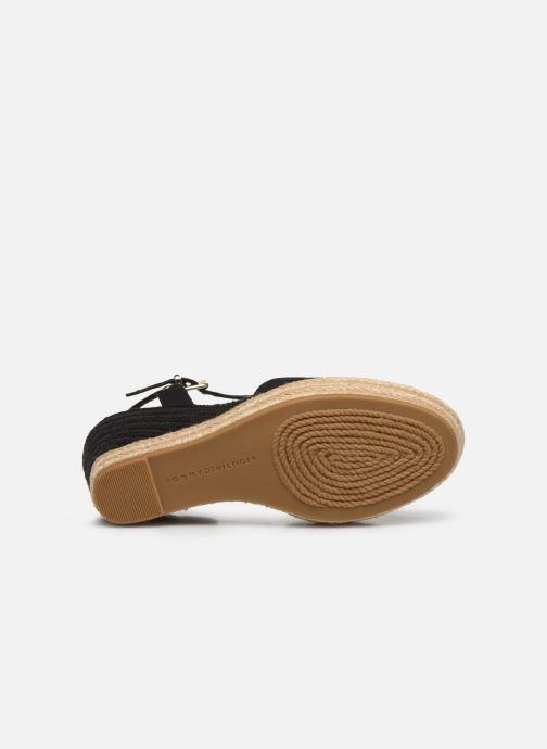 Sandaler Tommy Hilfiger BASIC CLOSED TOE HIGH WEDGE Sort se foroven