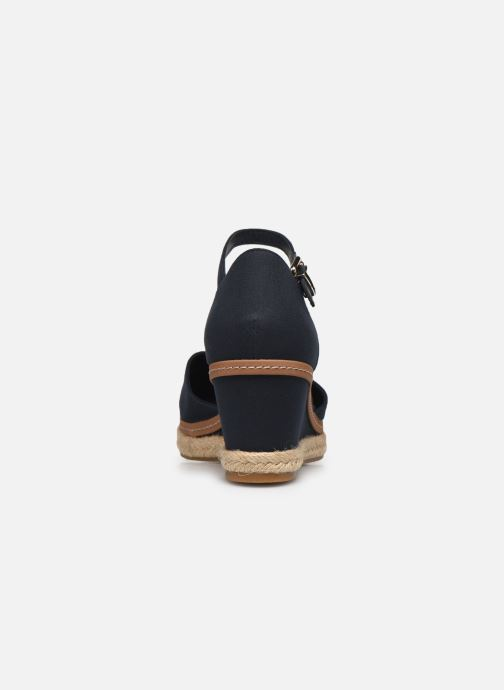 Sandali e scarpe aperte Tommy Hilfiger BASIC CLOSED TOE MID WEDGE Azzurro immagine destra