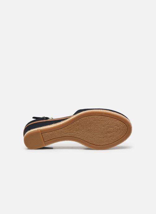 Sandali e scarpe aperte Tommy Hilfiger BASIC CLOSED TOE MID WEDGE Azzurro immagine dall'alto