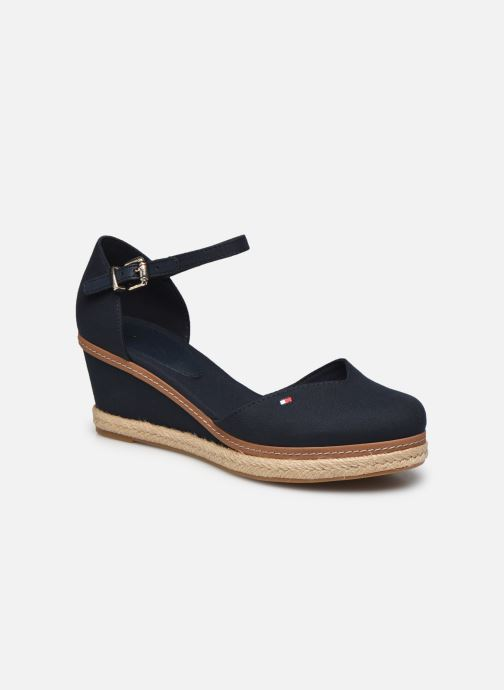 Sandali e scarpe aperte Tommy Hilfiger BASIC CLOSED TOE MID WEDGE Azzurro vedi dettaglio/paio