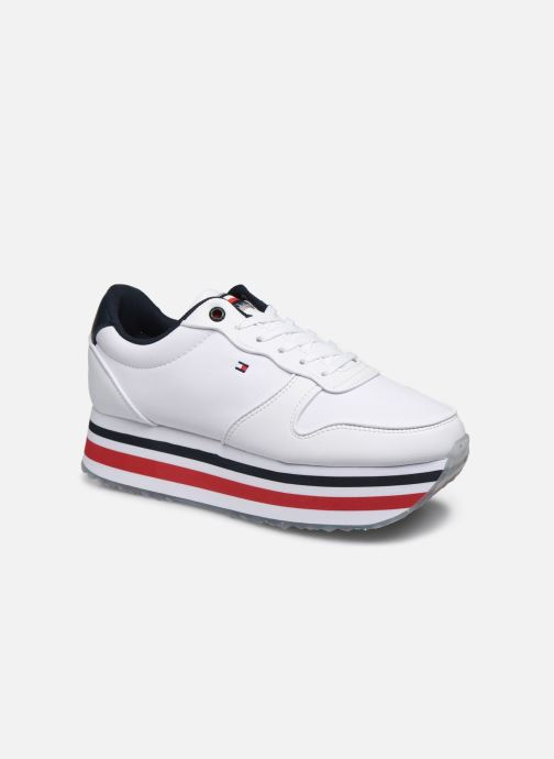 PIPED FLATFORM SNEAKER
