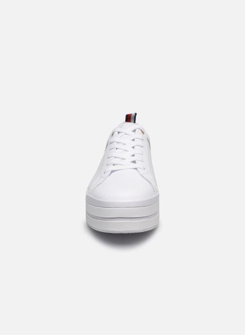 Tommy Hilfiger MODERN FLATFORM SNEAKER Sneakers 1 Hvid hos