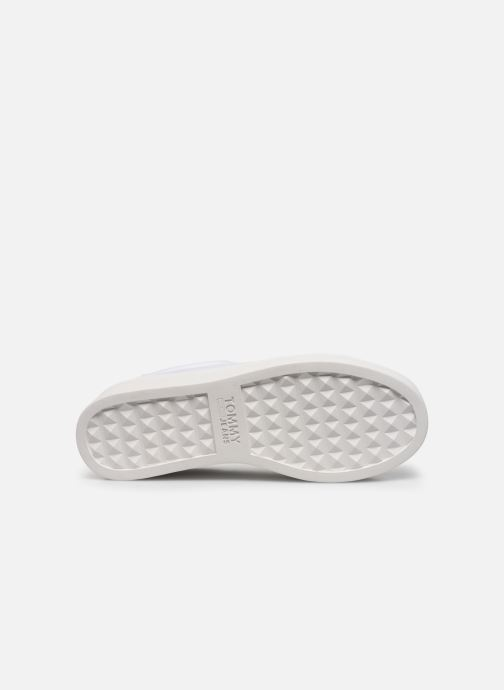 Sneakers Tommy Hilfiger TOMMY JEANS FLATFORM SNEAKER Wit boven