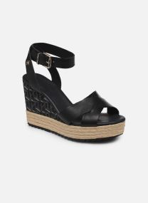 TH RAFFIA HIGH WEDGE SANDAL