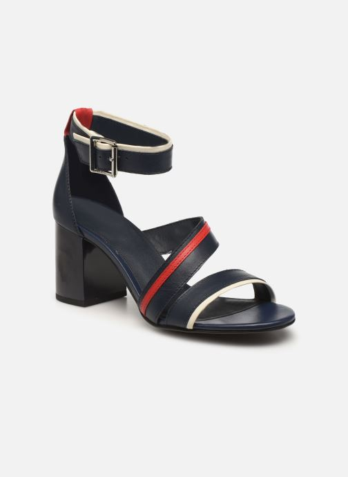 TOMMY STRAPPY MID HEEL SANDAL