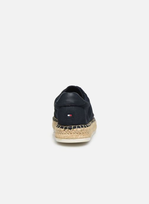 Deportivas Tommy Hilfiger NAUTICAL TH LACE UP ESPADRILLE Azul vista lateral derecha